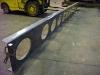 Custom Steel beam built to specification